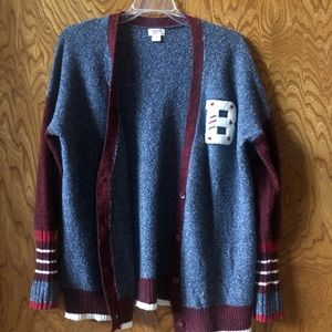 Mossimo old school cardigan | size M